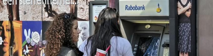 Rabobank pinautomaat