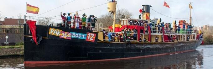 Intocht Sinterklaas Evenementen Op Terschelling