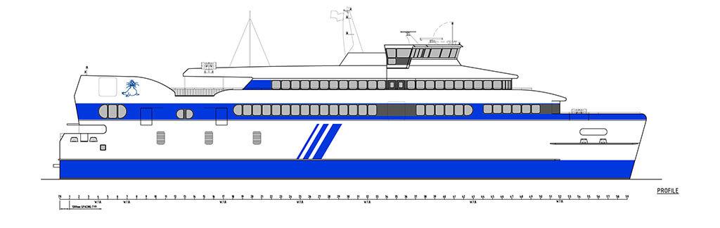 Nieuwe veerboot Doeksen