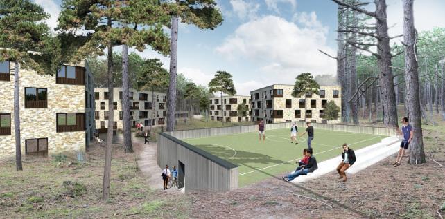 MIWB campus sportveld