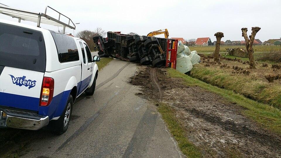 Ongeval hoofdweg